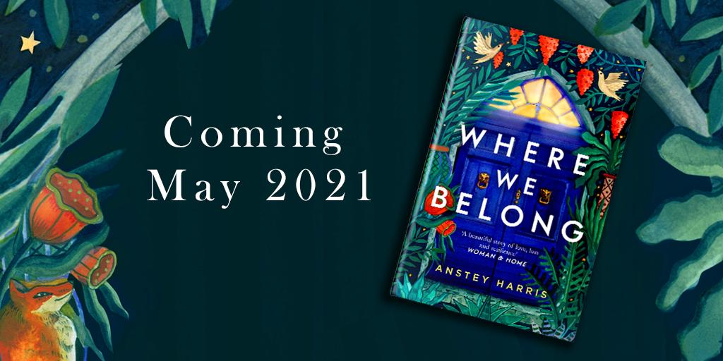Where We Belong Paperback out May 2021